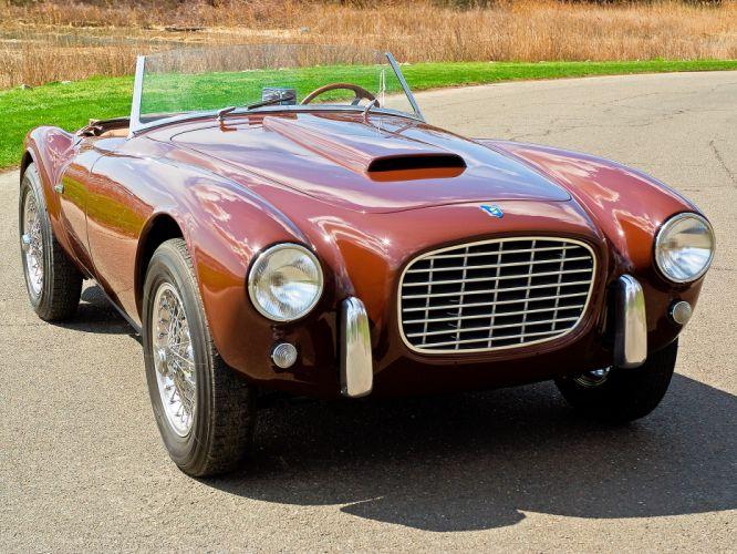 1953 Siata 208S Barchetta retro supercar h wallpaper