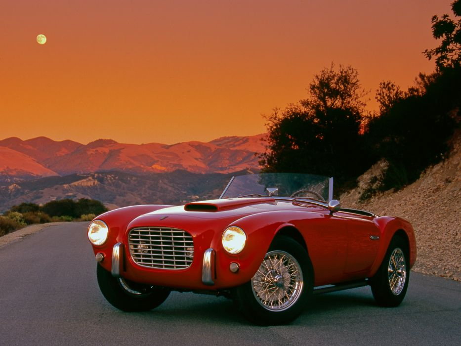 1953 Siata 208S Barchetta retro supercar    h wallpaper