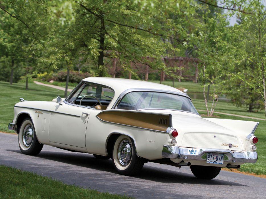 1957 Studebaker Golden Hawk retro   g wallpaper