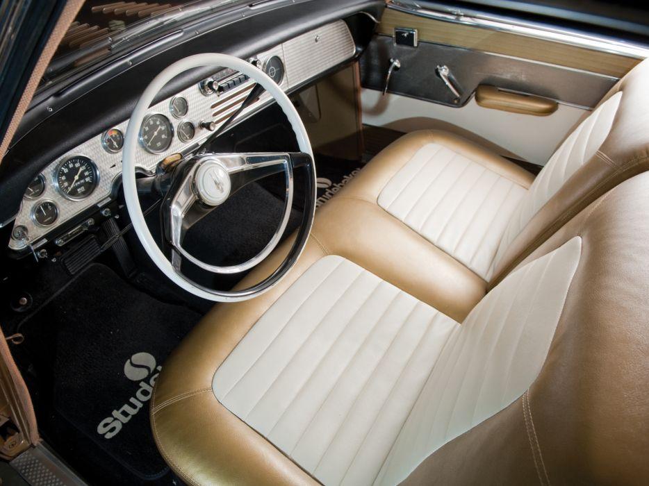 1957 Studebaker Golden Hawk retro interior      g wallpaper