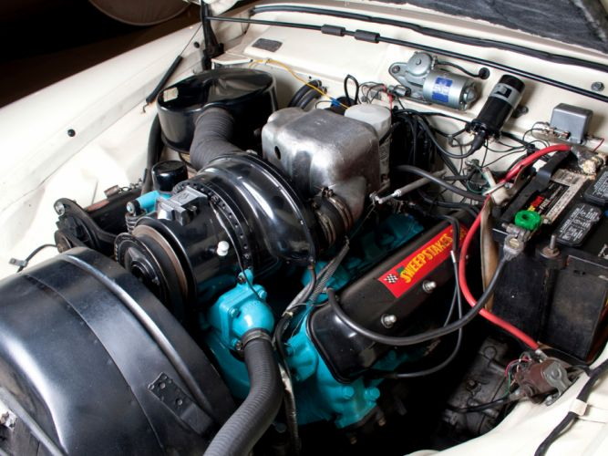1957 Studebaker Golden Hawk retro engine g wallpaper