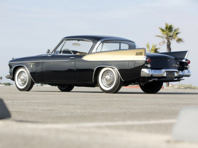 1957 Studebaker Golden Hawk retro rw wallpaper
