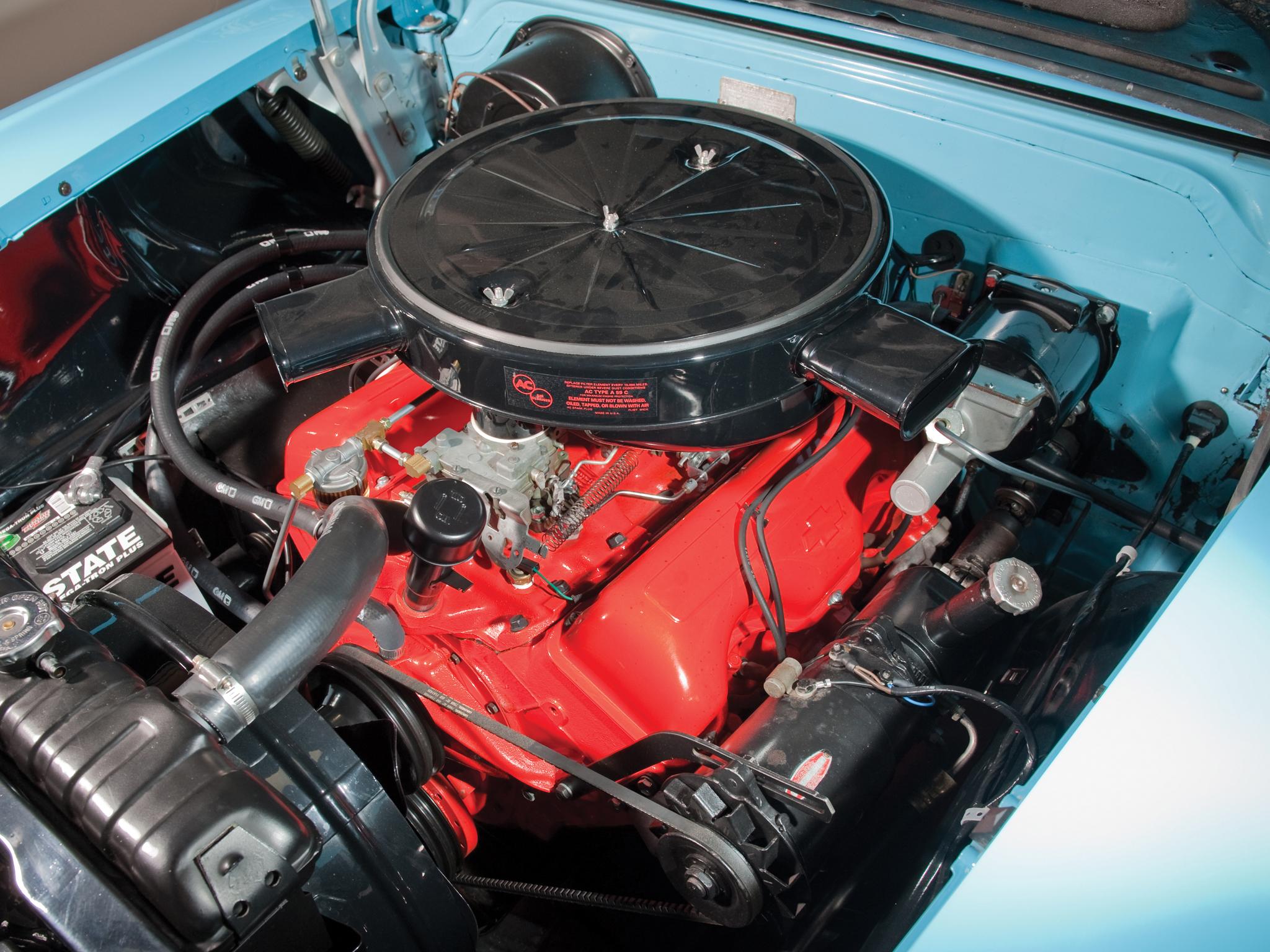 1958 chevrolet bel air impala 348 super turbo thrust tri power convertible retro engine g wallpaper 2048x1536 199883 wallpaperup