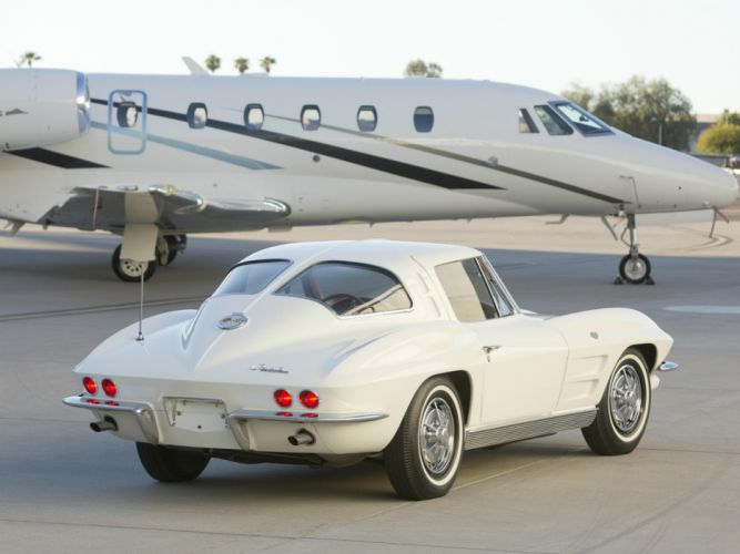 1963 Chevrolet Corvette StingRay L76 327 340HP (C-2) muscle classic supercar jet g wallpaper