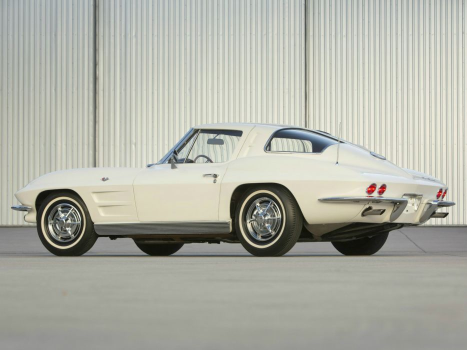 1963 Chevrolet Corvette StingRay L76 327 340HP (C-2) muscle classic supercar  g wallpaper