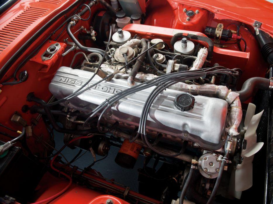 1969aei74 Datsun 240Z (HS30) classic engine        g wallpaper