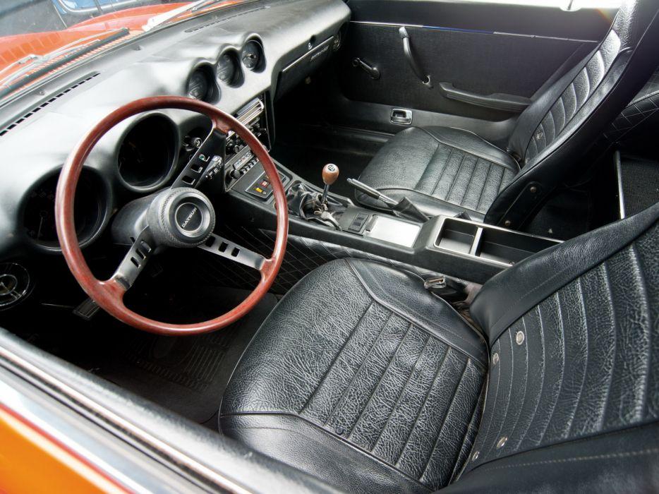 1969aei74 Datsun 240Z (HS30) classic interior      g wallpaper
