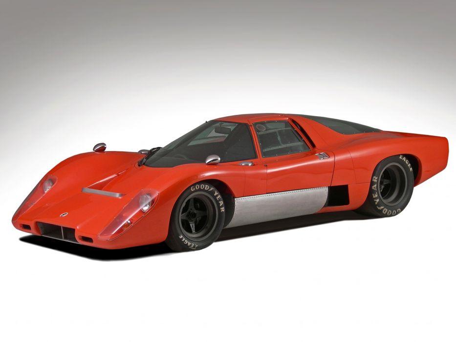 1970 McLaren M-6 G-T supercar classic race racing  fs wallpaper
