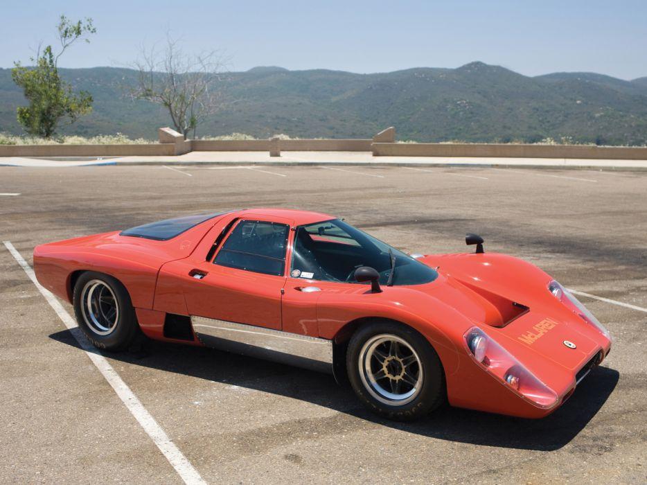 1970 McLaren M-6 G-T supercar classic race racing  gs wallpaper