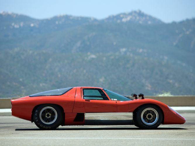 1970 McLaren M-6 G-T supercar classic race racing g wallpaper