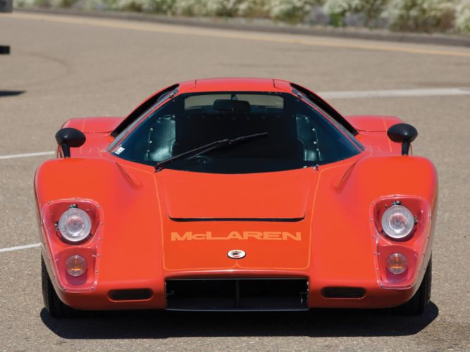 1970 McLaren M-6 G-T supercar classic race racing f wallpaper