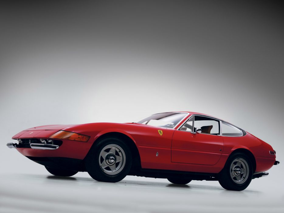1971 Ferrari 365 GTB4 Daytona US-spec supercar classic   g wallpaper