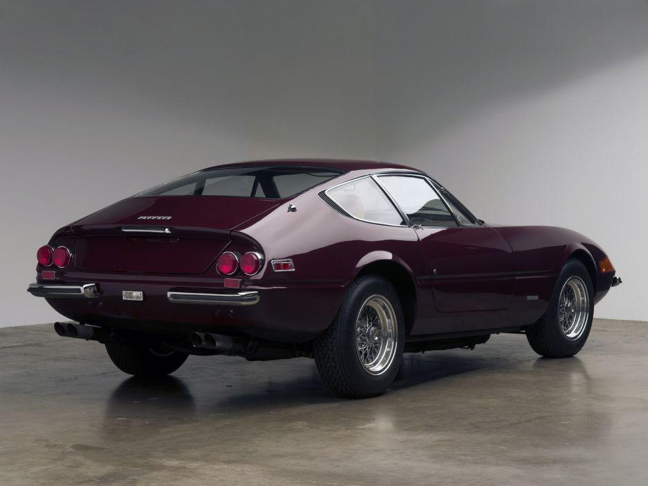 1971 Ferrari 365 GTB4 Daytona US-spec supercar classic  h wallpaper