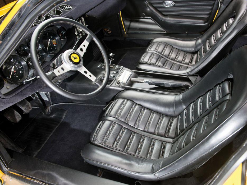 1971 Ferrari 365 GTB4 Daytona US-spec supercar classic interior    g wallpaper
