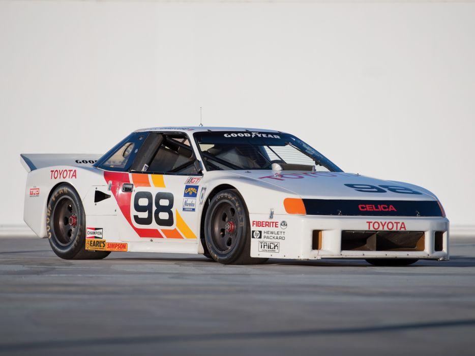 1987 Toyota Celica Turbo IMSA GTO (ST162) race racing   f wallpaper