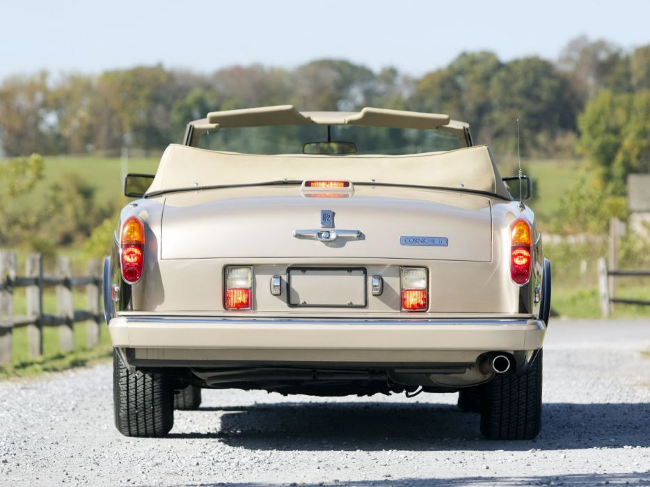 1986 Rolls Royce Corniche II luxury  f wallpaper