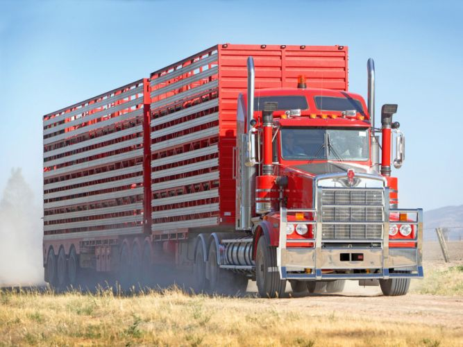 2008 Kenworth T658 semi tractor g wallpaper