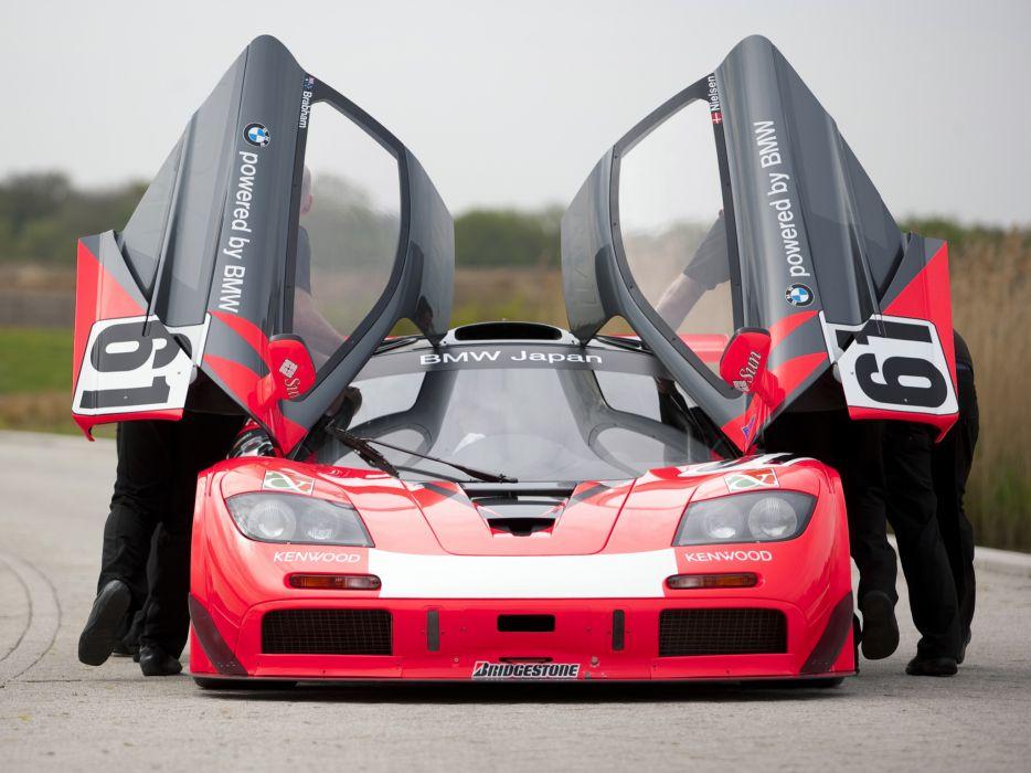 1997 McLaren F1 GTR Longtail race racing f-1 le-mans  ff wallpaper