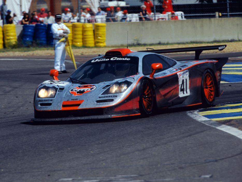 1997 McLaren F1 GTR Longtail race racing f-1 le-mans  f wallpaper
