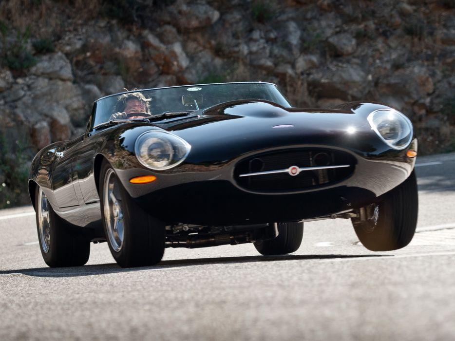 2011 Jaguar Eagle Lightweight Speedster supercar  fe wallpaper