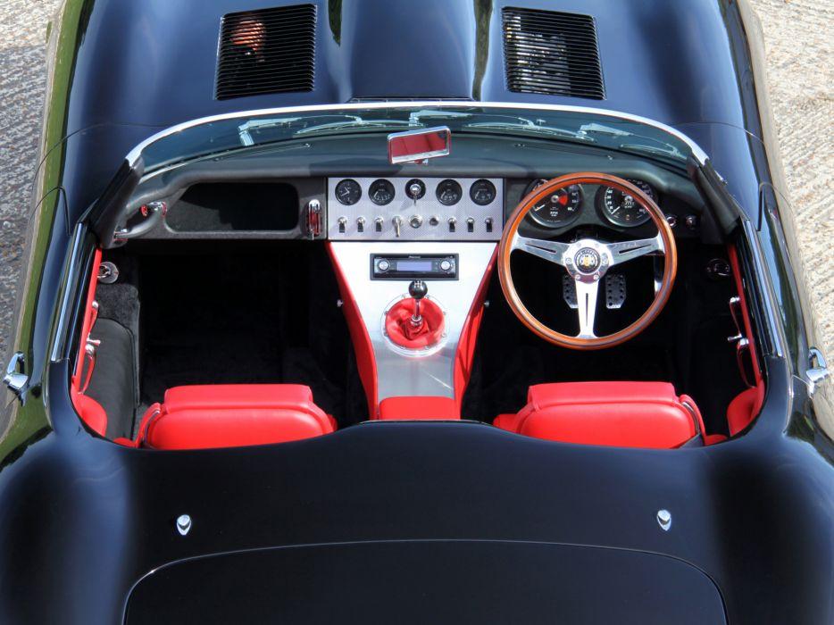 2011 Jaguar Eagle Lightweight Speedster supercar interior   u wallpaper
