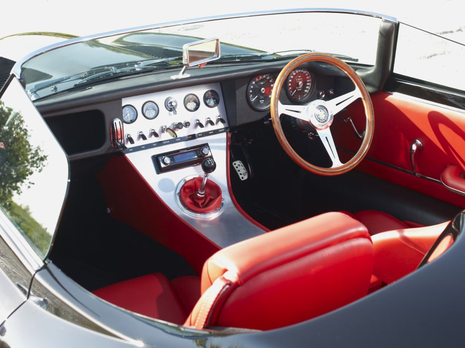 2011 Jaguar Eagle Lightweight Speedster supercar interior  h wallpaper