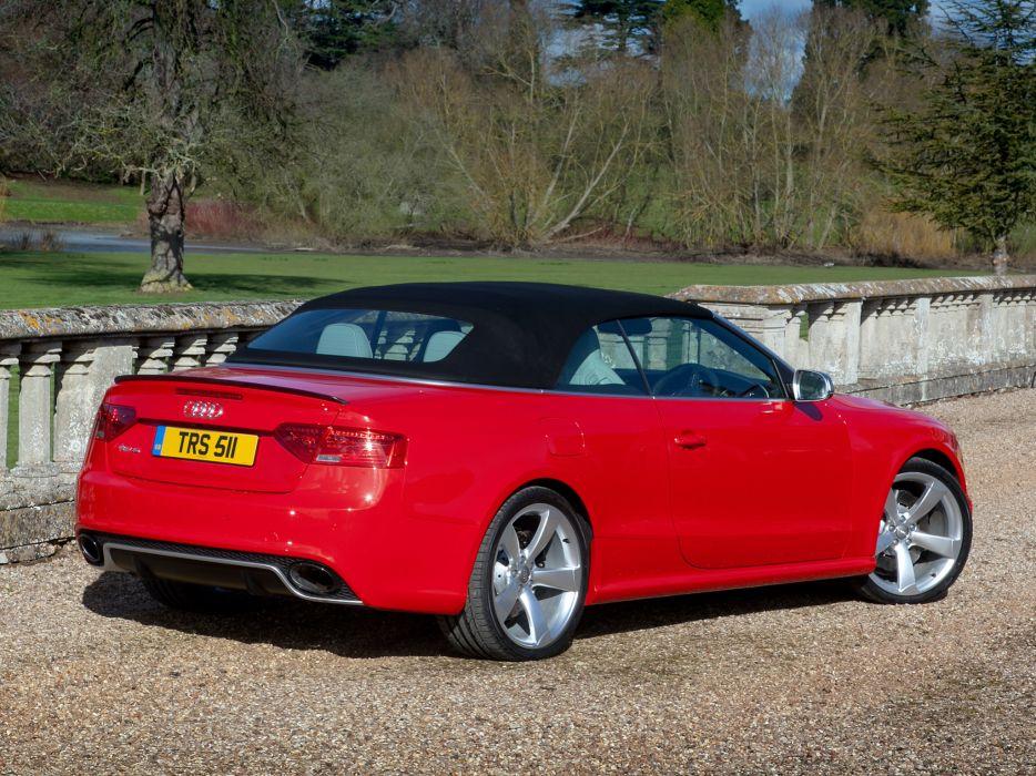 2013 Audi RS5 Cabriolet UK-spec    g wallpaper