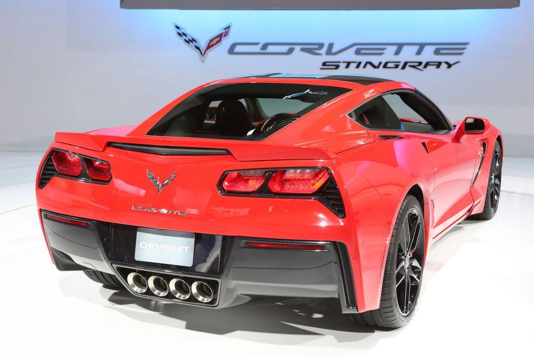 2013 Chevrolet Corvette Stingray supercar   h wallpaper