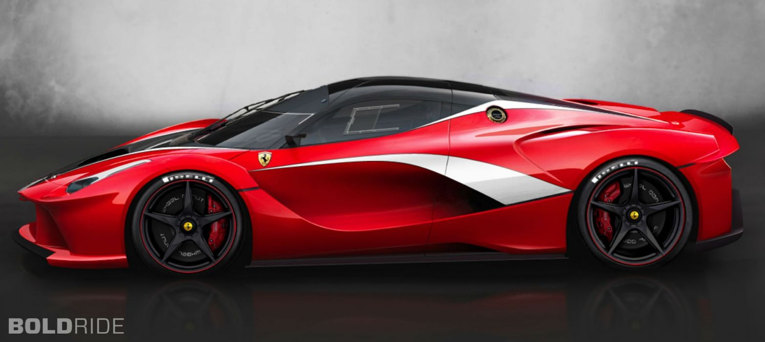 2013 Ferrari LaFerrari XFX Concept supercar    h wallpaper