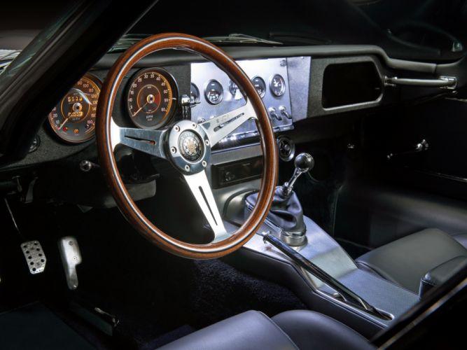 2013 Jaguar Eagle Speedster Low-Drag G-T supercar interior g wallpaper