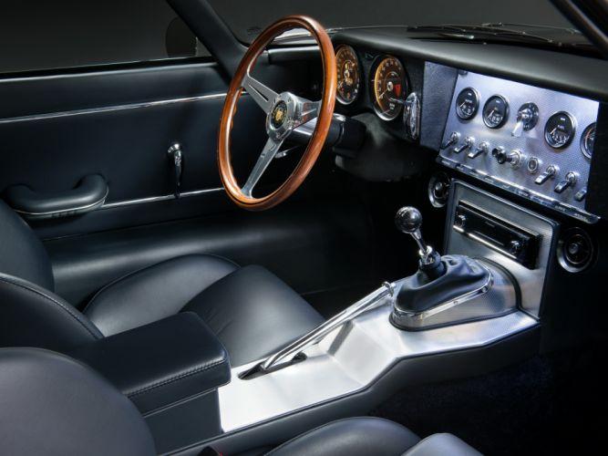 2013 Jaguar Eagle Speedster Low-Drag G-T supercar interior f wallpaper