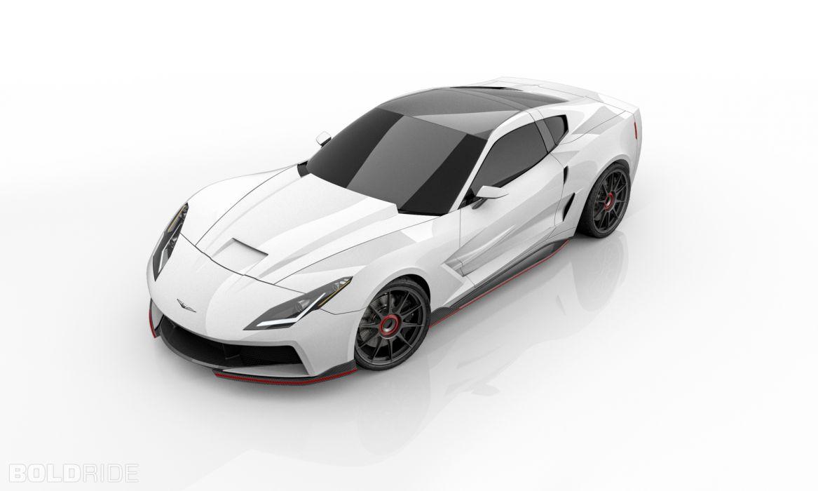 2013 Supervettes SV8R Concept corvette chevrolet supercar muscle tuning (7) wallpaper