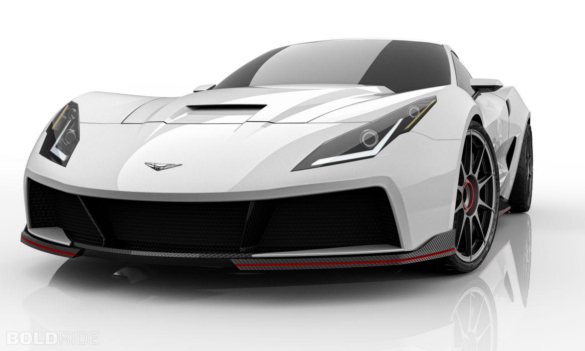 2013 Supervettes SV8R Concept corvette chevrolet supercar muscle tuning (11) wallpaper