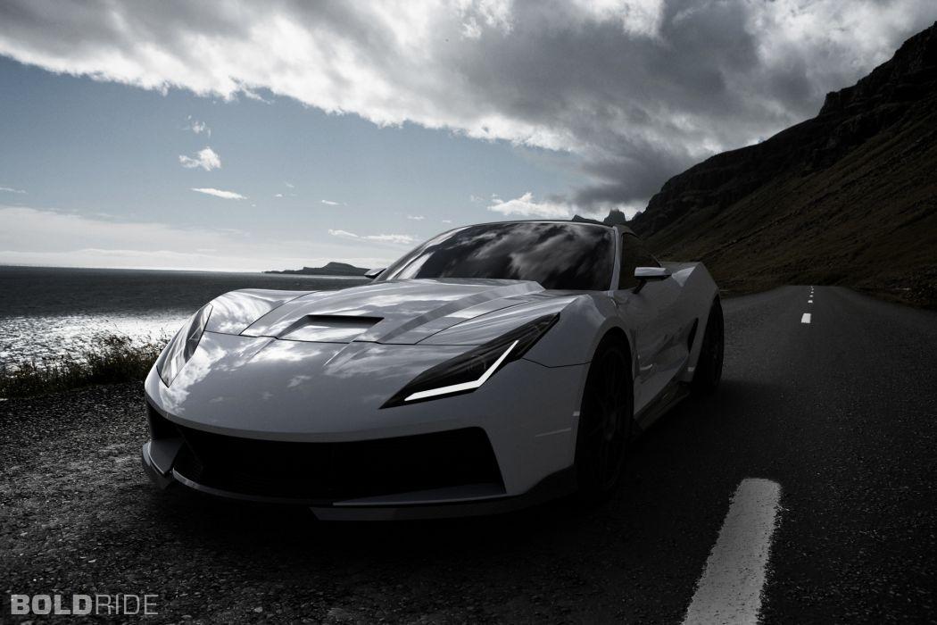 2013 Supervettes SV8R Concept corvette chevrolet supercar muscle tuning (12) wallpaper