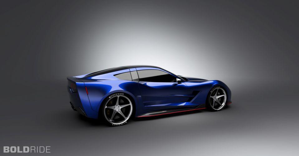 2013 Supervettes SV8R Concept corvette chevrolet supercar muscle tuning (15) wallpaper