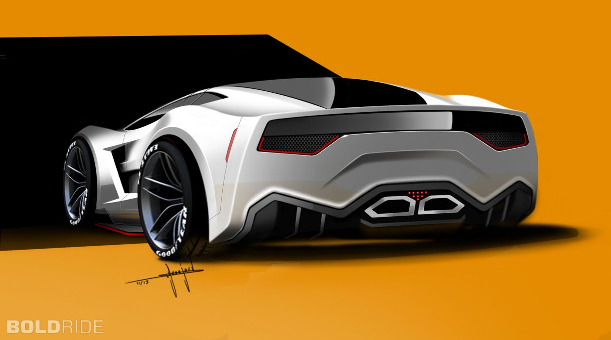 2013 Supervettes SV8R Concept corvette chevrolet supercar muscle tuning (16) wallpaper