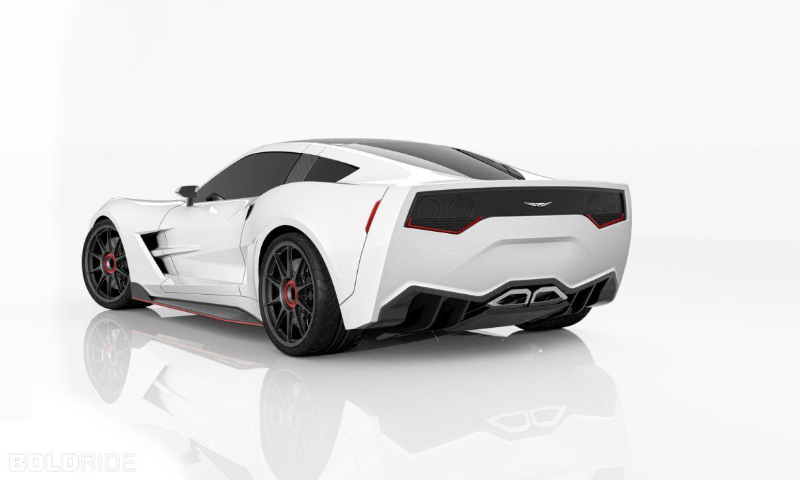 2013 Supervettes SV8R Concept corvette chevrolet supercar muscle tuning (17) wallpaper