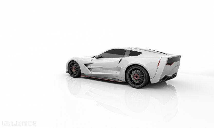 2013 Supervettes SV8R Concept corvette chevrolet supercar muscle tuning (5) wallpaper