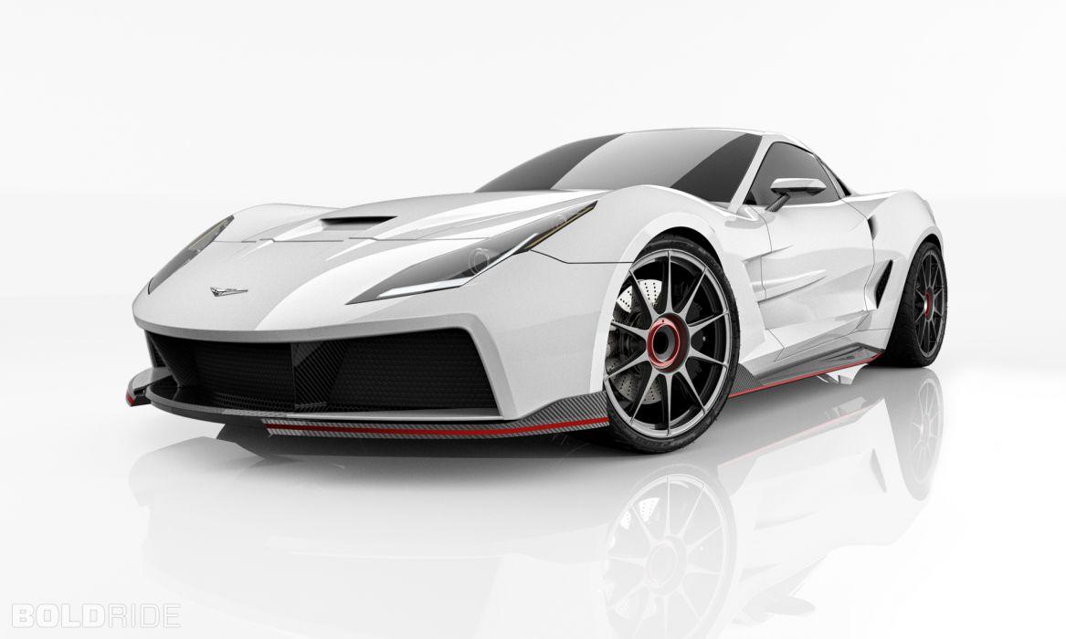 2013 Supervettes SV8R Concept corvette chevrolet supercar muscle tuning (3) wallpaper