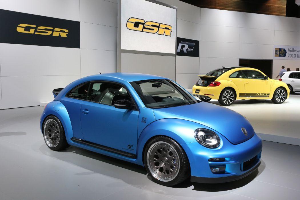 2013 Volkswagen Super Beetle tuning   h wallpaper