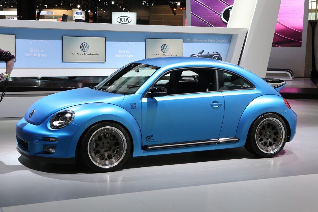 2013 Volkswagen Super Beetle tuning   j wallpaper