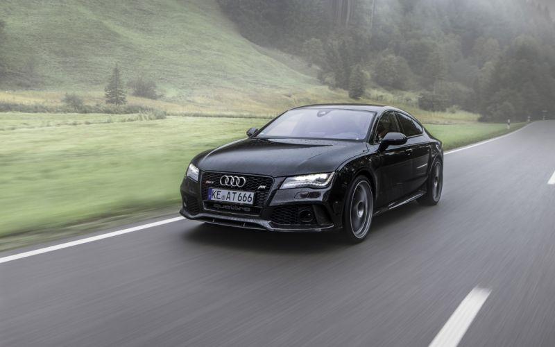 2014 ABT Audi RS7 tuning g wallpaper