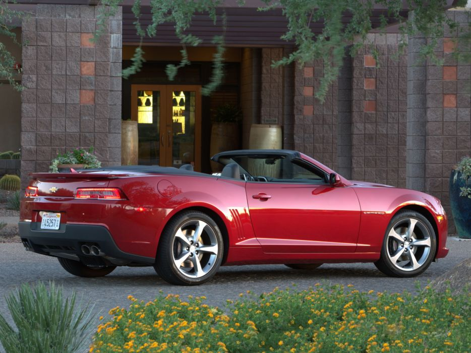 2014 Chevrolet Camaro S-S Convertible muscle  m wallpaper