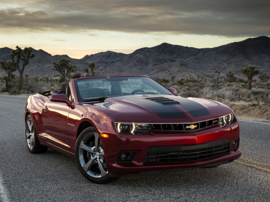 2014 Chevrolet Camaro S-S Convertible muscle        f wallpaper