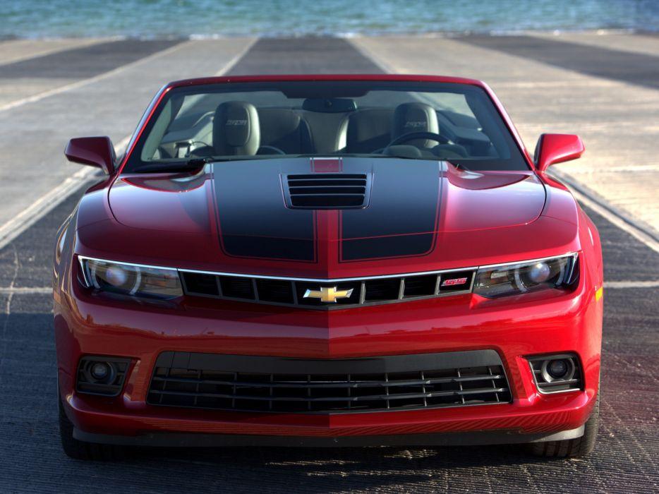 2014 Chevrolet Camaro S-S Convertible muscle   j wallpaper
