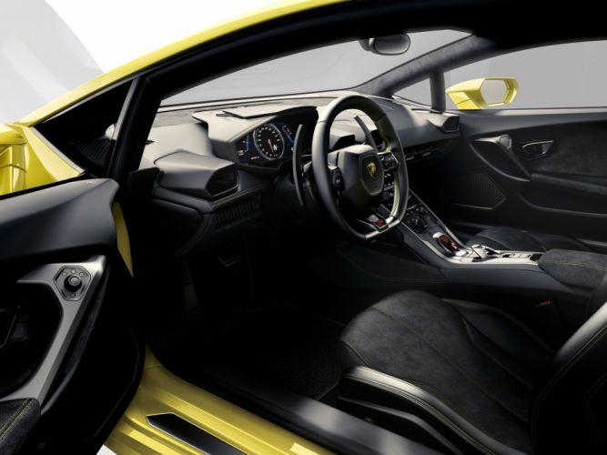 2014 Lamborghini Huracan LP610-4 LB724 supercar interior g wallpaper