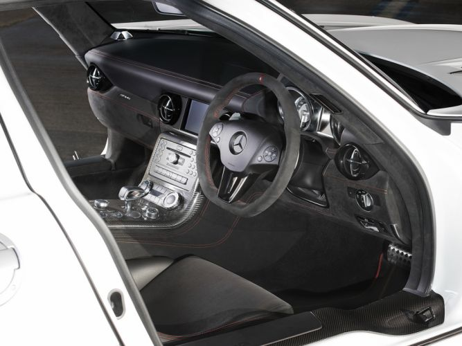 2014 Mercedes Benz SLS 6-3 AMG Black-Series UK-spec (C197) supercar interior g wallpaper
