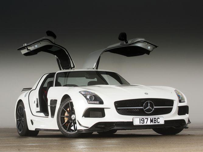 2014 Mercedes Benz SLS 6-3 AMG Black-Series UK-spec (C197) supercar d wallpaper
