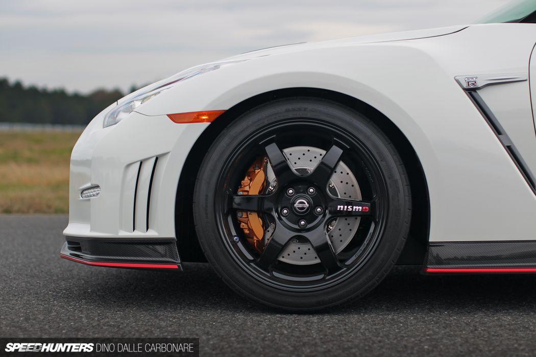 2014 Nissan Nismo GT-R R35 supercar race racing wheel    h wallpaper