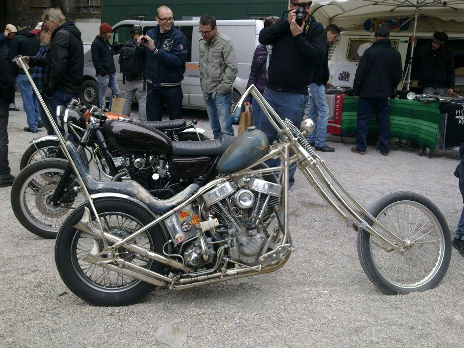 CUSTOM CHOPPER motorbike tuning bike hot rod rods     hj wallpaper